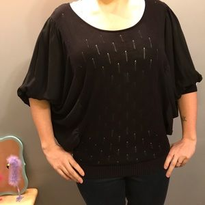 Tops - Very dressy black shirt